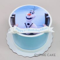 Olaf from Frozen (edible print)