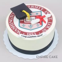 School Seal (edible print), Cap and Diploma